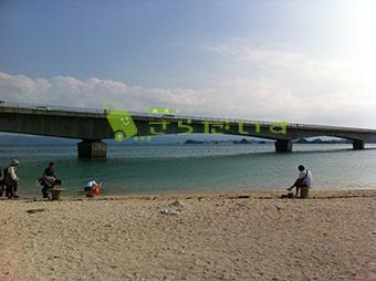 沖縄 古宇利島 JALCM